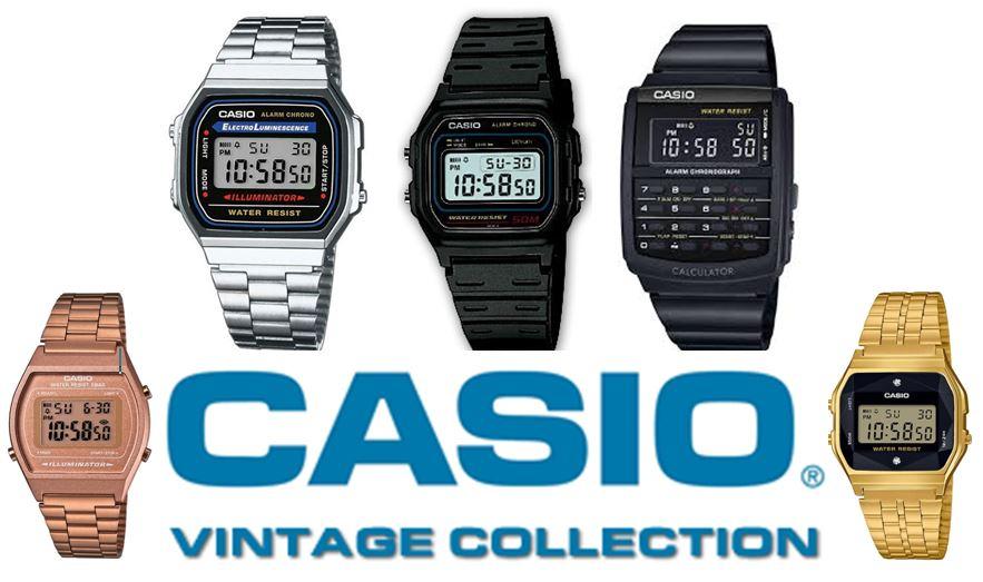 « Relojes casio vintage » Opiniones de los relojes retro de casio 3c6b8af99553