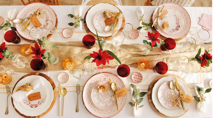 Decoracion de mesa de navidad