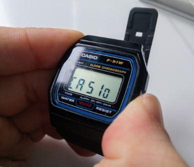 86ce1d3cfd49 Reloj Casio F-91W » El mejor reloj de la marca desde hace decadas