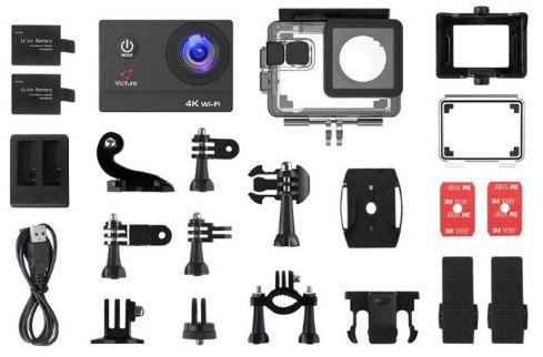 Accesorios cámara deportiva 4k Victure AC800