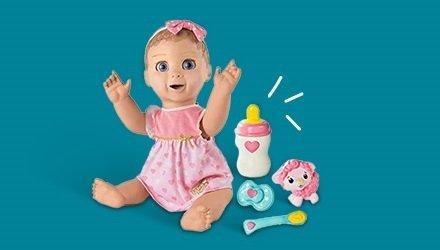 Juegos de imitación y muñecos bebe