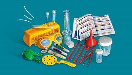 Juguetes educativos y kits científicos