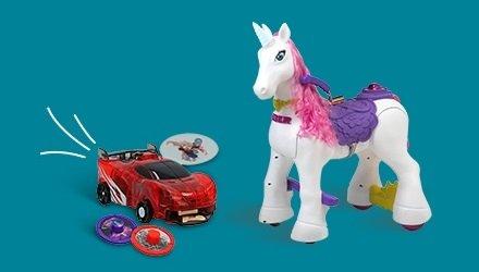 Modelos y juguetes de acción