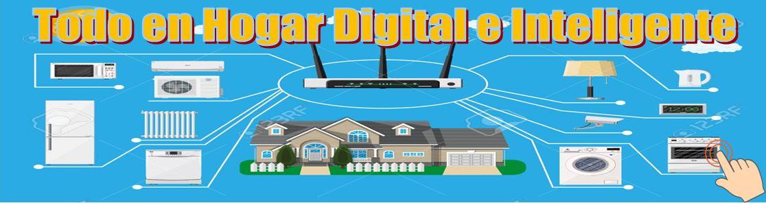 Banner Hogar digital e inteligente