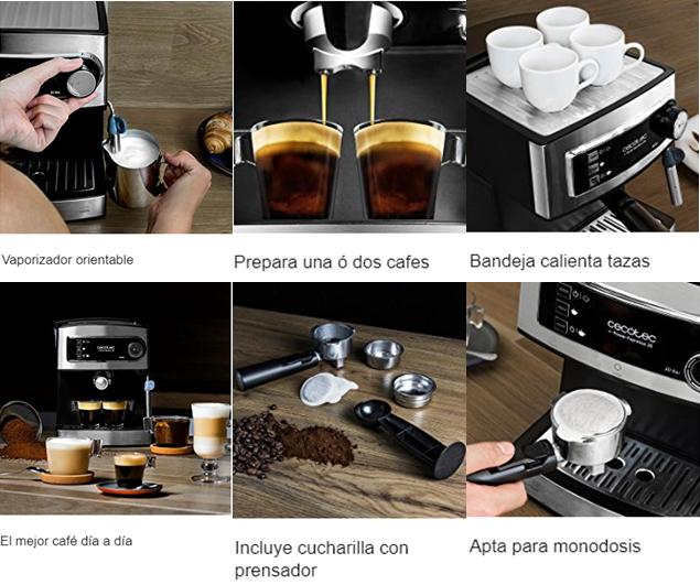 Características Cecotec Power Espresso 20