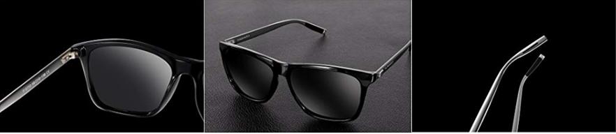 SUNMEET Gafas de sol Polarizadas Clásico Retro