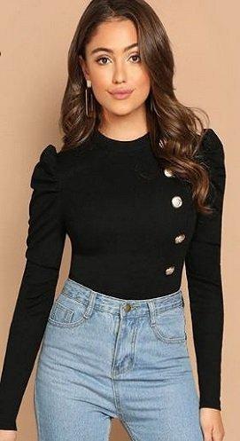 Camiseta Negra Fashion