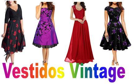 6cc9e831d Vestidos estilo Vintage - Largos y Cortos » Para Bodas y Fiesta