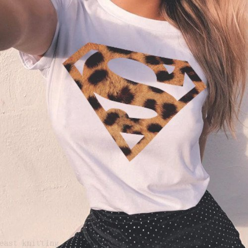 Camiseta Superman Animal Print