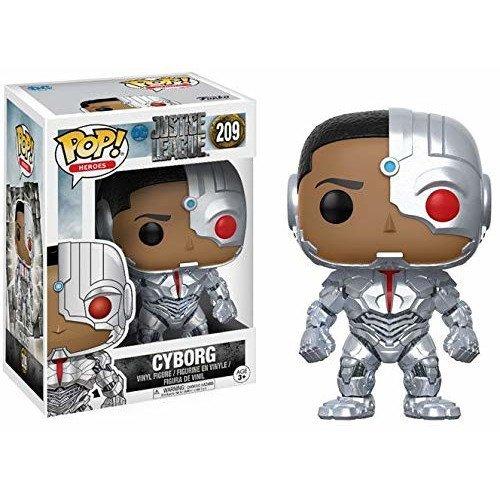 Funko Pop Liga de la Justicia Cyborg