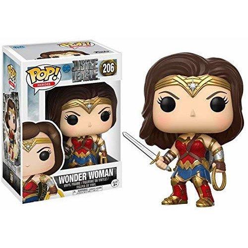 Funko Pop Liga de la Justicia - Wonder Woman