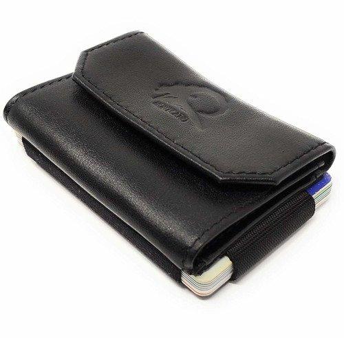cartera minimalista monedero hombre