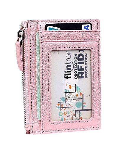 flintronic cartera tarjeta de crdito slim billetera hombre de piel