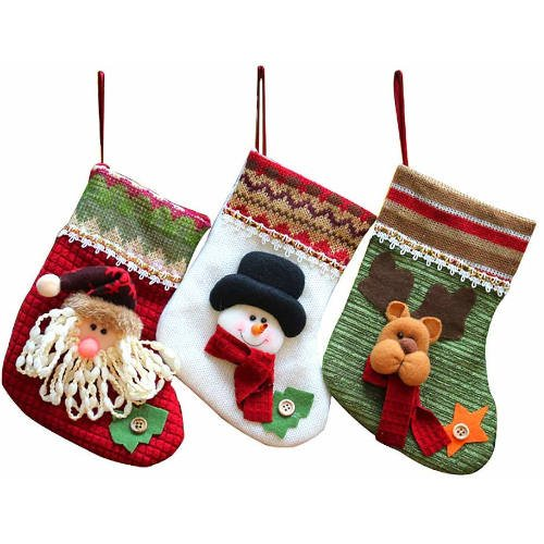Como Decorar Calcetines Para Navidad.Calcetines De Navidad Para Caramelos Y Golosinas
