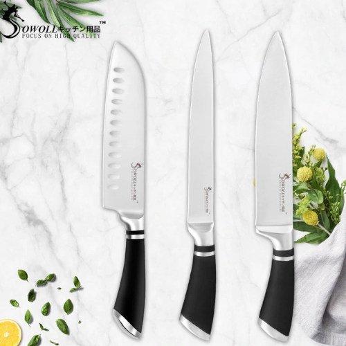 Cuchillo de cocina santoku