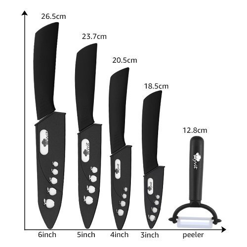 Cuchillos de Zirconia