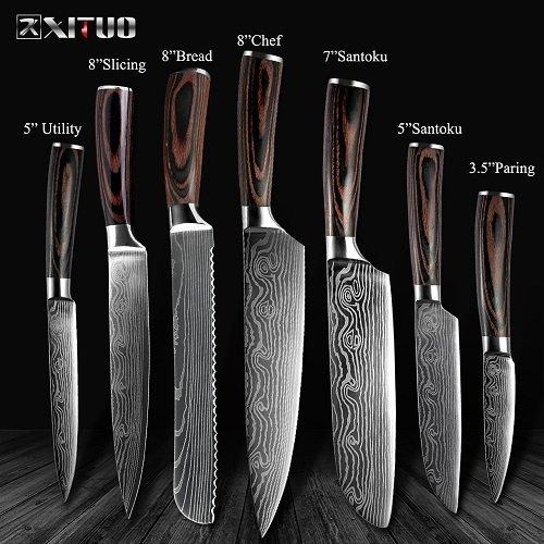 Cuchillos de cocina Xituo