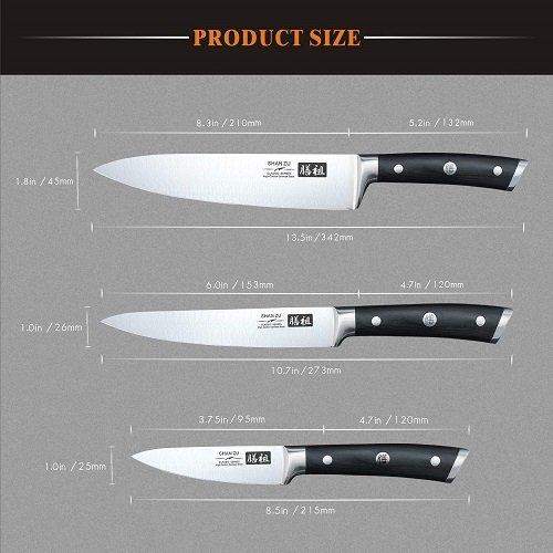 Cuchillos de cocina del chef