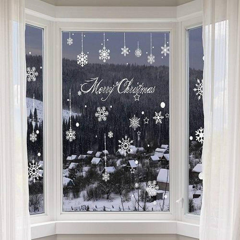 Pegatina decorativa de navidad