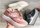 Zapatillas con Plataforma para Mujer y Niña